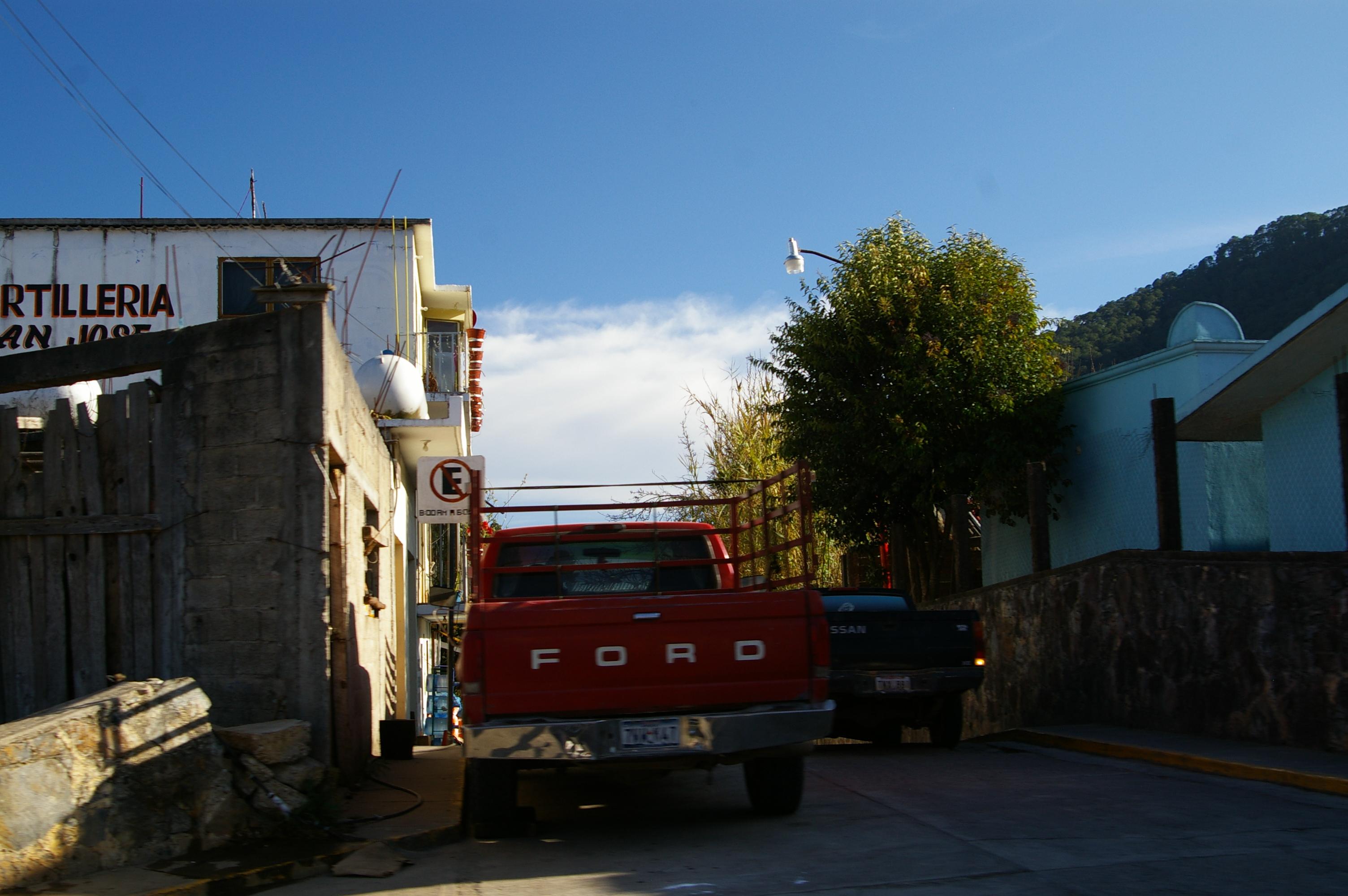 Droga przez Sierra Madre do Xilitla