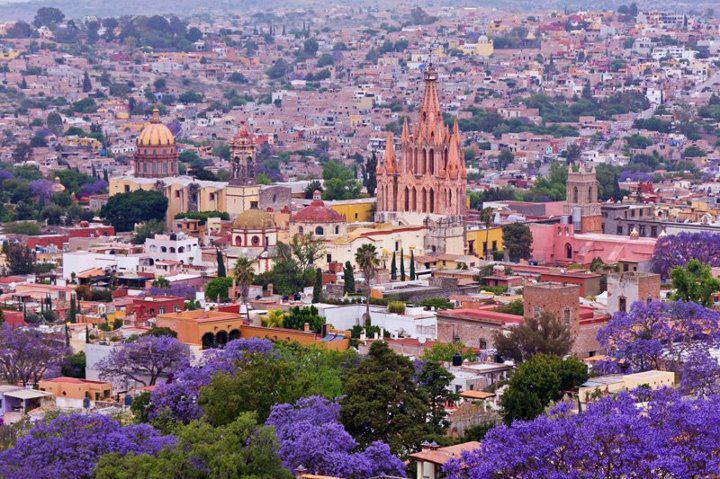 Wiosna w San Miguel de Allende